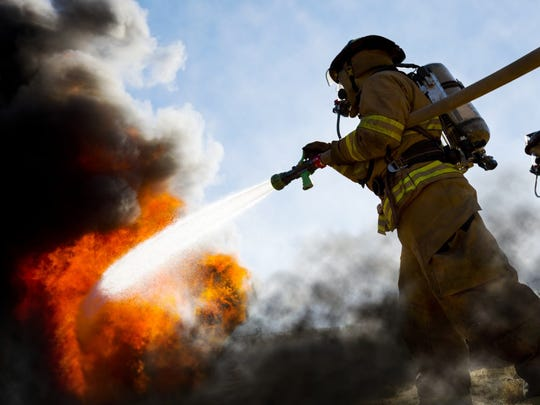 Being a firefighter can be stressful, dangerous and have a taxing schedule.