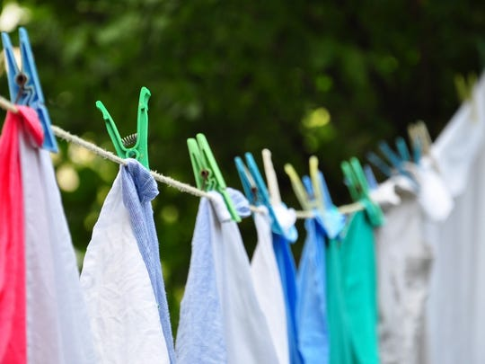 Invest in a clothesline