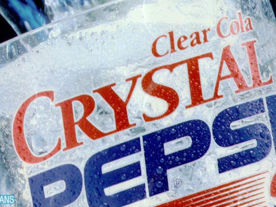 Pepsi pulled the plug on the clear and caffeine-free drink less than two years after its release in 1992.