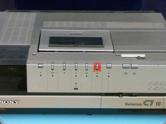 Sony's Betamax recording tape lost out to JVC's VHS format because other manufacturers could not license the technology and opted for VHS.