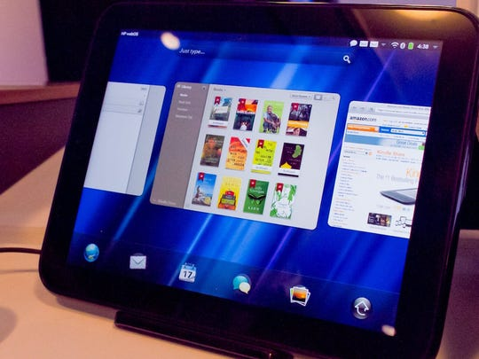 Hewlett Packard's attempt to compete with the iPad was costly and resulted in the devices being sold at a discount.