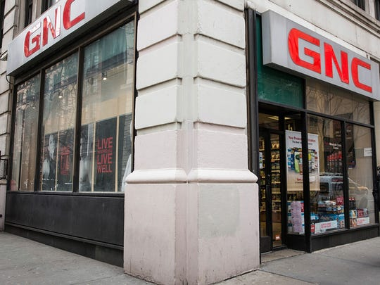 GNC Holdings Inc. filed for Chapter 11 bankruptcy protection Tuesday and said it may close up 1,400 stores nationwide. Its stores in the Corpus Christi area remained open on Wednesday.