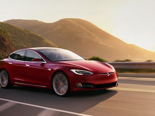 Tesla Model S 75D.