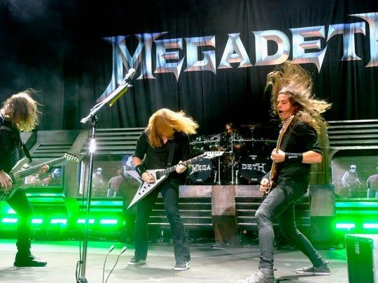 Metal legend Megadeth will co-headline Summerfest's American Family Insurance Amphitheater July 4.