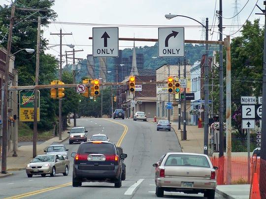 Weirton-Steubenville, West Virginia-Ohio.