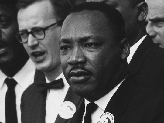 Martin Luther King Jr. FILE.