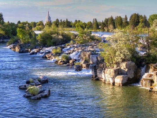 Idaho Falls, Idaho.