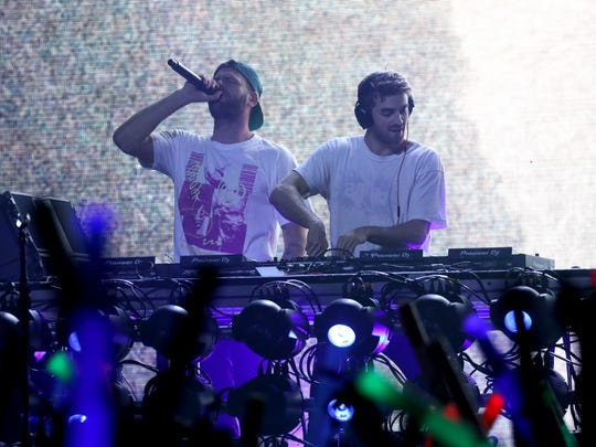 The Chainsmokers will play the Iowa State Fair Grandstand in 2019.