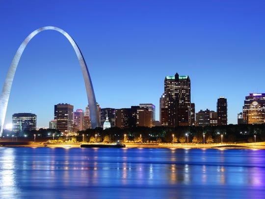 Missouri: St. Louis.