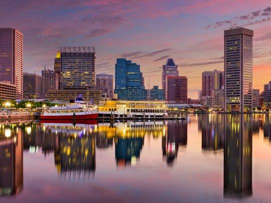 Baltimore-Columbia-Towson, Maryland.