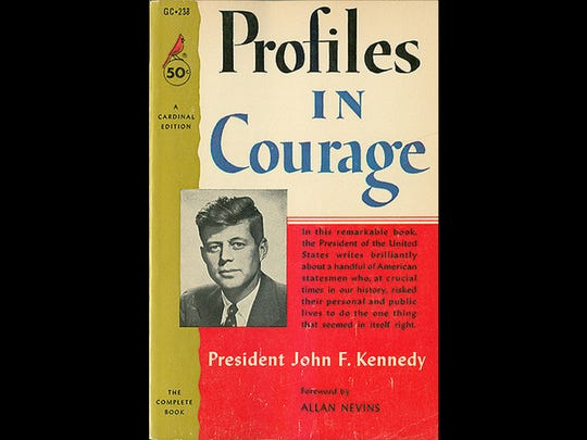 """John F. Kennedy wrote """"Profiles in Courage,"""" which won the Pulitzer Prize for biography in 1957, though much of the book may have been ghostwritten by Theodore Sorensen."""