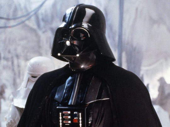 1. Darth Vader     • Role:  Sith Lord     • Appears in:  Episodes III, IV, V, VI, Rogue One     • Screentime:  2 hours, 30 minutes     A fallen Jedi, Darth Vader is seduced to the dark side of the Force by Darth Sidious and serves under the Dark Lord of the Sith for decades as they rule the Galactic Empire. While Vader is unsuccessful in his attempts to seduce Luke Skywalker to the dark side, the two unite as father and son as they defeat Emperor Palpatine. Darth Vader dies as Anakin Skywalker and reunites with Obi-Wan and Yoda as a Force spirit.     ALSO READ: 40 Most Successful Star Wars Actors