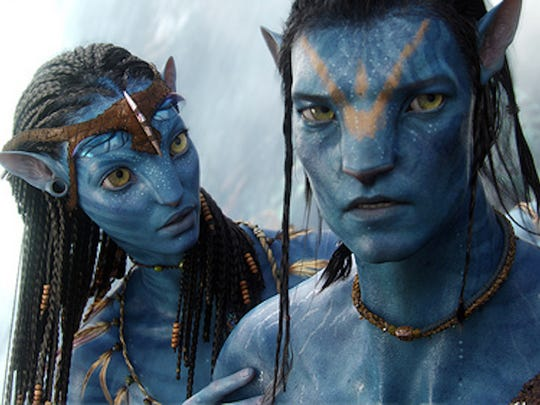 """Zoe Saldana starred in """"Avatar,"""" in 2009 directed by James Cameron, which brought in $760.5 million at the domestic box office and set the record for the biggest weekend ever."""