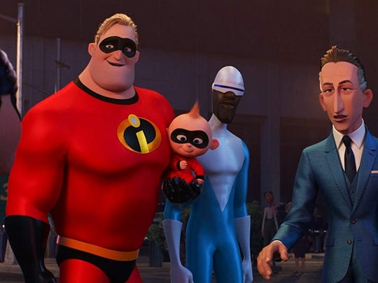 """10. Incredibles 2 (2018)   • Directed by:  Brad Bird   • Starring:  Craig T. Nelson, Holly Hunter, Sarah Vowell   • Avg. critic rating:  7.9/10   • Domestic box office gross:  $608.6 million   """"Incredibles 2"""" -- released 14 years after its predecessor -- performed slightly worse than """"The Incredibles"""" amongst critics, but better amongst audiences. Both films were written and directed by Brad Bird, who also worked on """"Ratatouille"""" and non-Pixar movie """"The Iron Giant."""""""