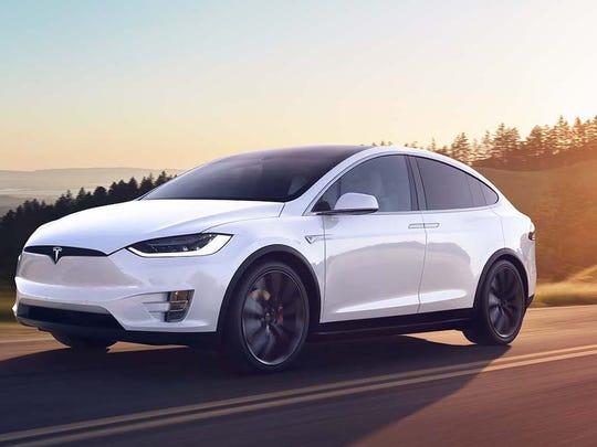 Tesla Model X 4dr Electric 4WD