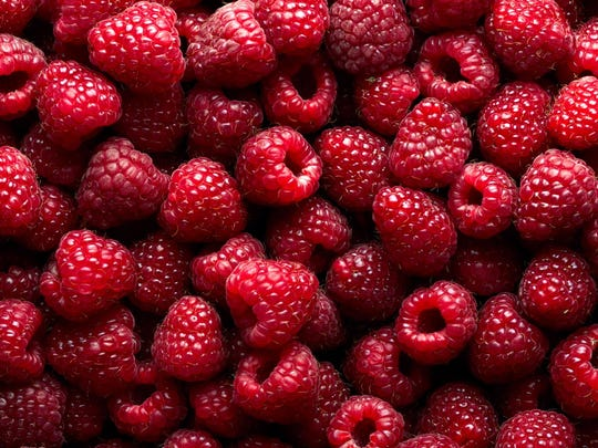 17. Raspberries     As with blackberries, these should be gently washed (very gently, as they're the most delicate of summer berries), with any suspect berries discarded, then spread out in a single layer on a plate lined with paper towels and popped into the refrigerator.