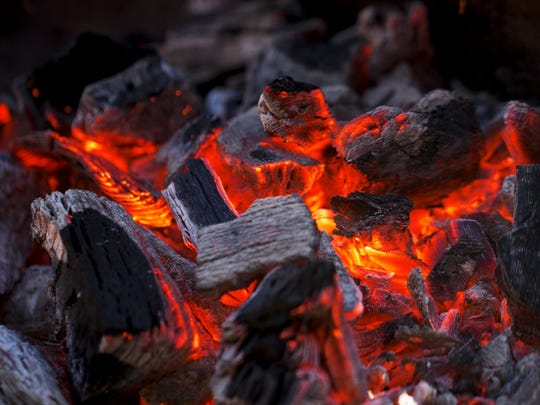 5. Spreading the coals too early.