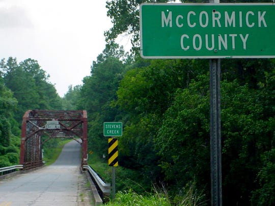South Carolina: McCormick County