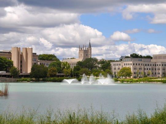 Northwestern University in Evanston, Illinois.