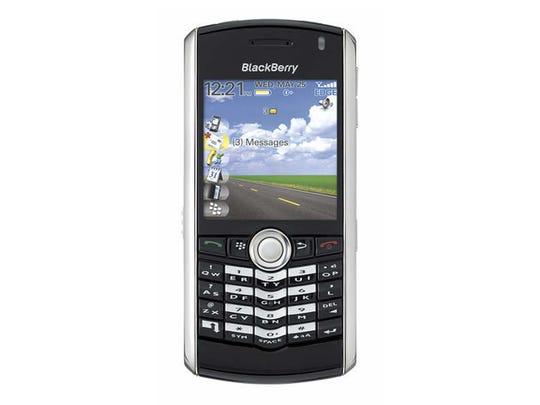 BlackBerry Pearl 8100– 2006