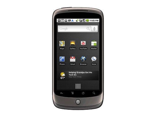 HTC Google Nexus One– 2010