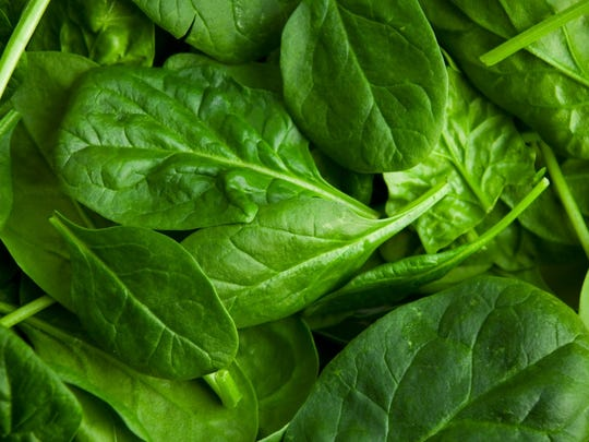 "Spinach     Look for bright green leaves with no yellowing, and choose younger (or ""baby"") spinach if possible, to avoid fibrous stalks.    ALSO READ: This is America's Favorite Vegetable? Really?"