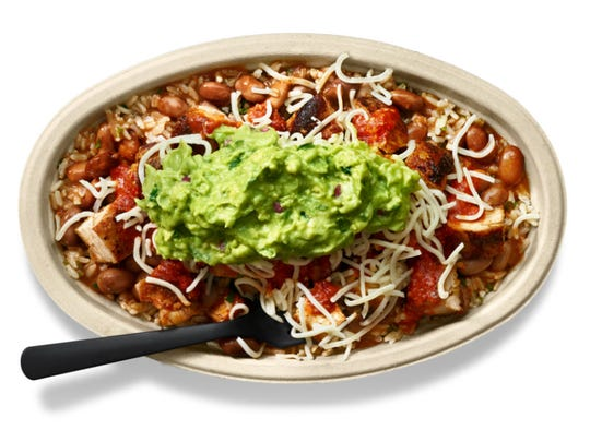 Chipotle bowl.