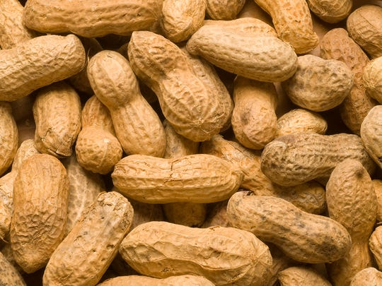 Peanut stock photo.