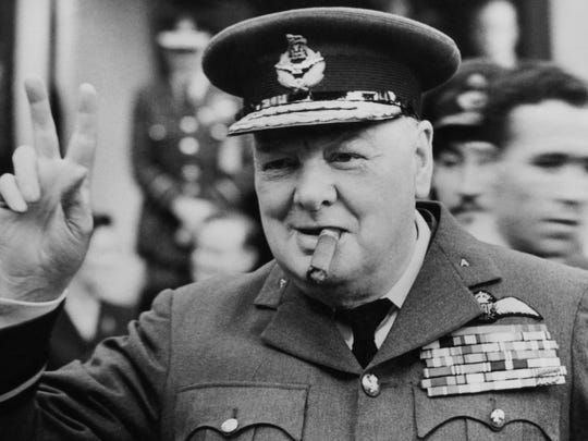 """Winston Churchill (1871-1947) and Winston Churchill (1874-1965)   The more famous Winston Churchill was a military officer, politician, and author, who held the office of prime minister of Great Britain twice -- from 1940 to 1945 and from 1951 to 1955. In his first term, during World War II, he was instrumental in engineering the defeat of Nazi Germany. He was a celebrated orator -- he coined the term """"iron curtain"""" in a speech in 1945 -- and a prolific author of historical works as well as a gifted amateur painter.    ALSO READ: Most Uncommon Baby Names in America"""