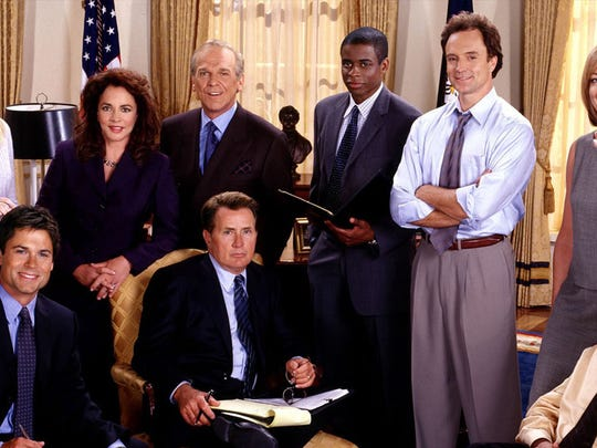 """8. The West Wing   • All-time Emmys:  26   • Nominations:  95   • Years:  1999-2006   • Most frequent award:  Outstanding Drama Series (4) """"The West Wing"""" -- Aaron Sorkin's popular drama about the inner workings of the White House -- was an Emmys smash right out of the gate, winning nine awards its first season. This is more than any other series in Emmy history. The show is also tied with three others for most Best Drama Series wins with four.     ALSO READ: Best Superhero Movies of All Time"""
