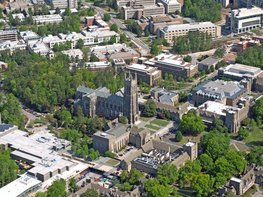 20. Duke University     • Acceptance rate:  9.9%     • SAT scores at 25th & 75th percentiles:  1,380 and 1,540     • Student to faculty ratio:  6:1     • Average net price of attendance:  $19,785 per year     • Location:  Durham, North Carolina