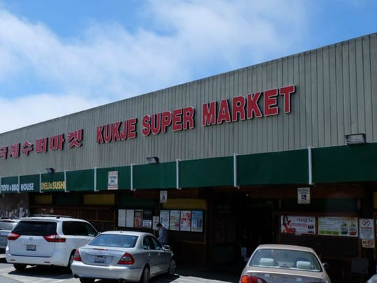 """10. Kukje Super Market   • Location:  Daly City, California (population: 106,480)   • Total Yelp reviews:  718   • Avg. Yelp rating:  4.0 Kukje stocks a full line of housewares -- for bedroom and bathroom as well as kitchen -- in addition to an array of produce, including Asian specialty items, farmed fish imported from Korea, various cuts of meat, and other Asian and American foods. """"Go here and get all of your Asian (especially Korean) groceries and snacks,"""" advised one Yelper."""