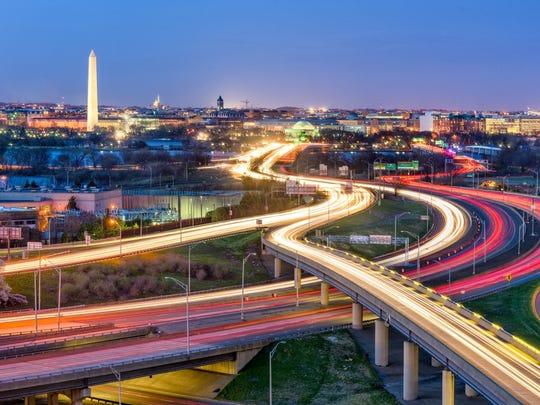 10. Washington, D.C., andArlington-Alexandria, Virginia