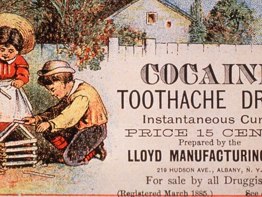 Cocaine was often used in hospitals in the early 20th century as a treatment for several maladies.