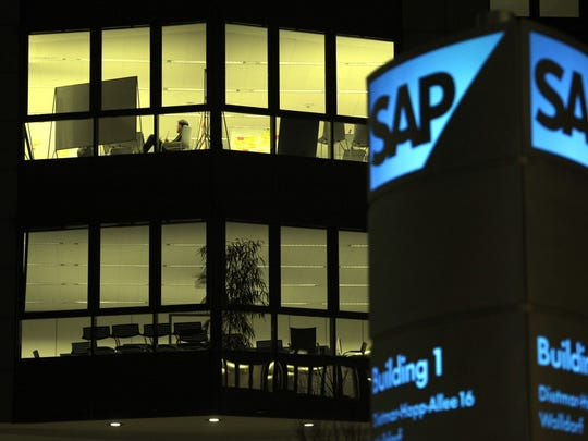 Software company SAP has an estimated brand value of $22.9 billion.