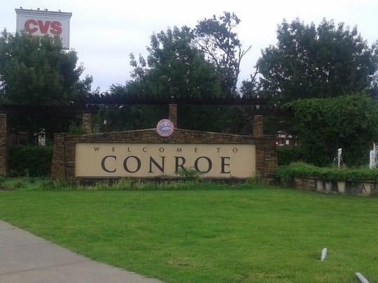 Conroe, Texas.