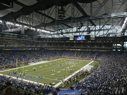 Ford Field, Detroit.