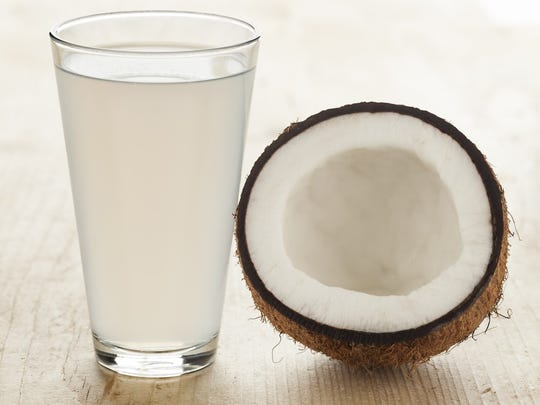 Coconut water isn't to be confused with coconut milk, which is the rich, creamy substance made from grated coconut. Instead, it's the liquid that sloshes around inside a young green coconut.