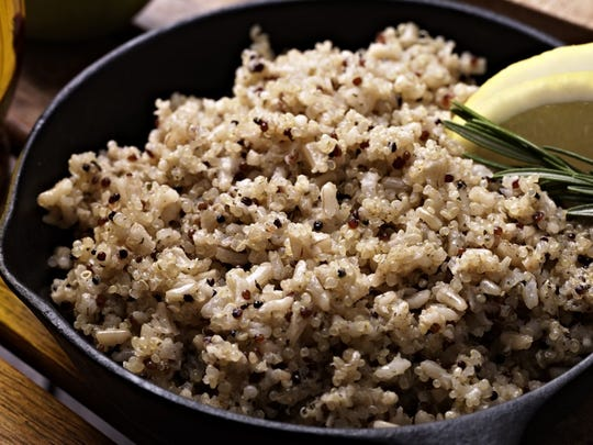 Quinoa (pronounced KEEN-wah) is a nutritious grain-like seed that has been a dietary staple in the Andes for thousands of years.