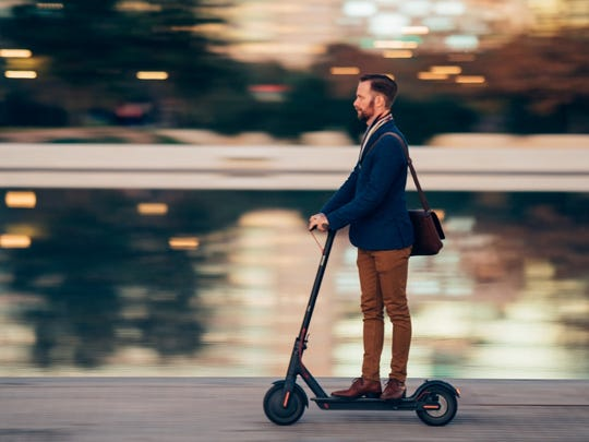 Gov. Andrew Cuomo indicated Thursday he wants to legalize e-scooters in New York.