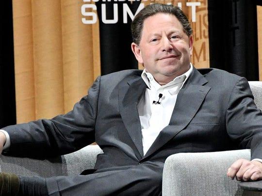 Robert A. Kotick, Activision Blizzard CEO.