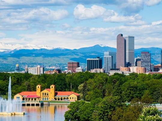 39. Denver, Colorado   • Population:  693,417   • 5 yr. population change:  +12.0%   • Median household income:  $63,793   • 5 yr. avg. unemployment:  4.0% With a population of over 690,000, Denver is by far the largest city to rank on this list. Denver residents benefit from a higher than typical concentration of cultural attractions and entertainment options like bars, restaurants, museums, movie theaters, and recreation centers.  Many Denver residents also have options when it comes to the daily commute. Some 14.5% of the commuters in the city use transportation other than a personal vehicle, well above the 9.5% share nationwide.     ALSO READ: States Where People Live the Longest