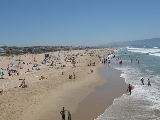 1. Manhattan Beach, California   • Population:  35,573   • 5 yr. population change:  +0.7%   • Median household income:  $150,083   • 5 yr. avg. unemployment:  5.3% Manhattan Beach is one of several California cities to rank on this list. Located on the Pacific Coast about 20 miles from downtown Los Angeles, Manhattan Beach residents have access to a major urban area and miles of ocean coast. Due in part to its high desirability as a place to live, real estate in Manhattan Beach is expensive, as is the overall cost of living. People living there tend to be relatively affluent, with over half of all area households reporting incomes over $150,000 a year.  As is often the case in wealthy areas, serious crimes are relatively uncommon in Manhattan Beach. The city's violent crime rate of 158.2 incidents per 100,000 people is less than half the national rate of 380.6 per 100,000.     ALSO READ: Fastest Growing Place in Every State