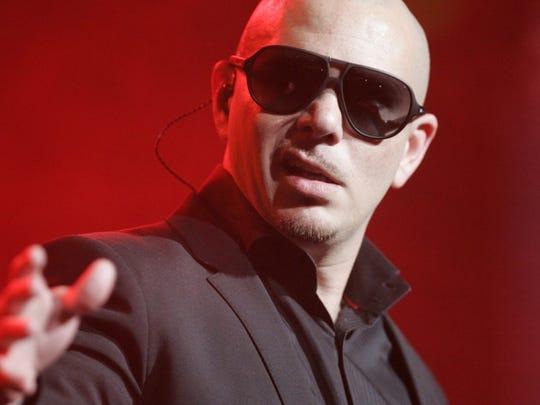 Pitbull, a Cuban-American rapper born Armando Christian Perez.