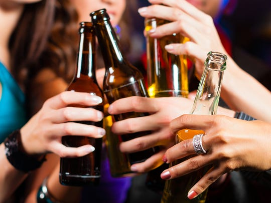 24. Excessive alcohol consumption   A study of more than 11,000 people showed a correlation between high alcohol consumption and visible signs of premature aging. More specifically, drinking too much increases the risk of developing arcus corneae (a white or gray half-circle on your eye) and earlobe crease (a line or a wrinkle in the middle of the earlobe). Alcohol also causes dehydration, which is a major contributor to premature aging.    ALSO READ: 'Harmless' Habits That Are Actually Aging You Faster Than You Can Imagine