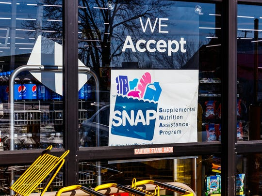 A file photo of a store accepting SNAP benefits. Mississippi's welfare agency said many recipients would see increases in their SNAP benefits to combat the economic effects of the coronavirus.