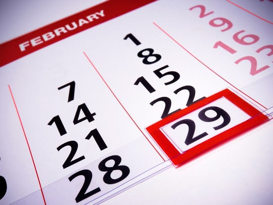This is a Leap Year, meaning that 2020 has a Feb. 29, something which occurs every four years.