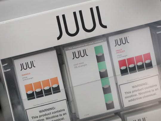 The state has a temporary ban on sale of flavored e-cigarettes is in effect until April 15.