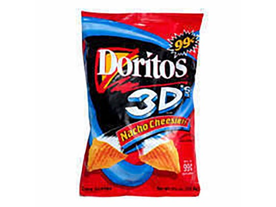 Doritos 3D.