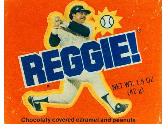 Reggie! bars.